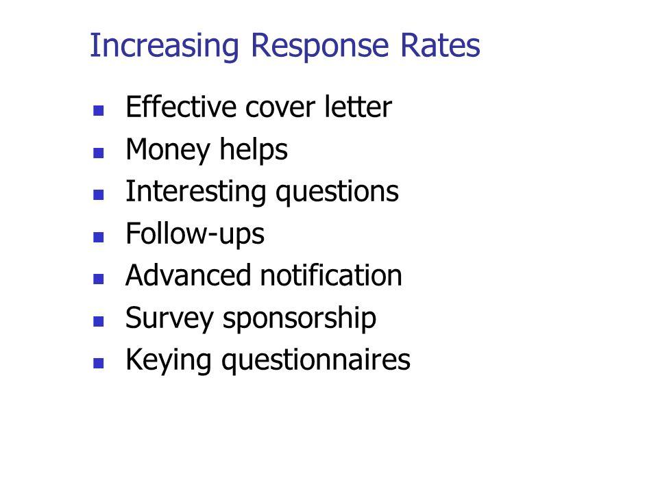 Survey Research Surveys Surveys ask respondents for information - survey cover letter