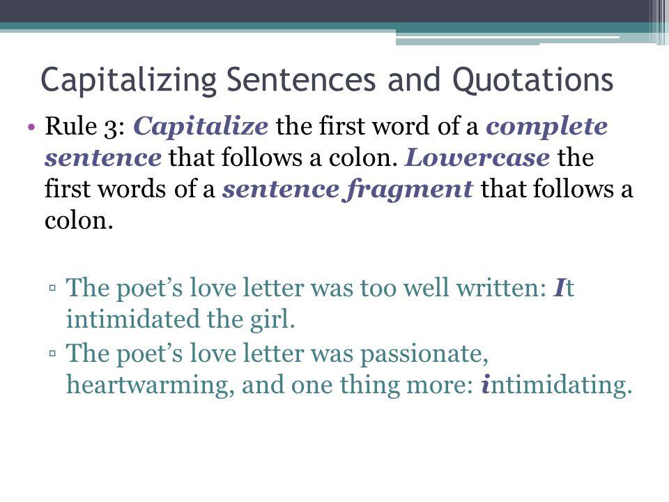 Grammar Unit 7 Lesson 1 Capitalization Review Capitalizing