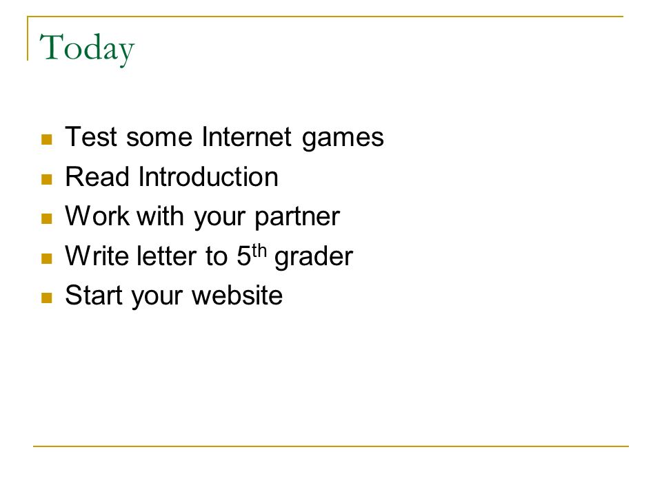 Internet Safety Web Quest Lesson 1 Everything you need to get