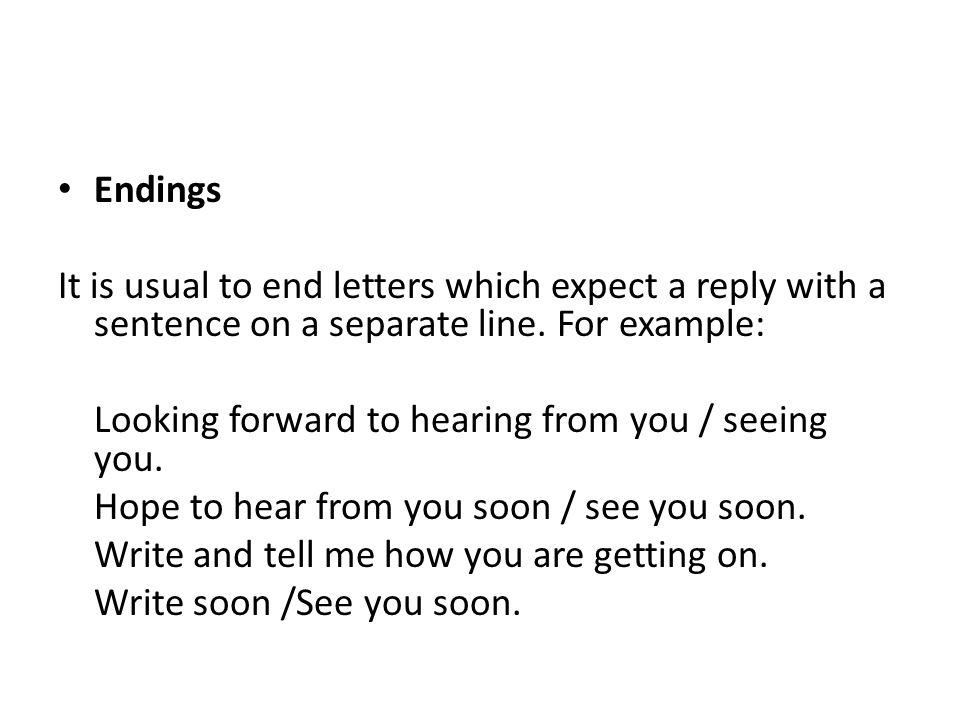 Ending A Letter Crna Cover Letter Useful Phrases For Informal
