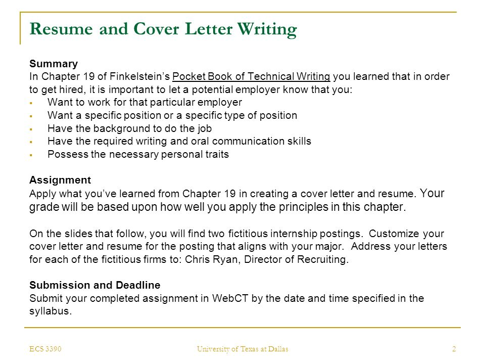 ecs cover letters - Ordekgreenfixenergy - reasons why you should customize your cover letter