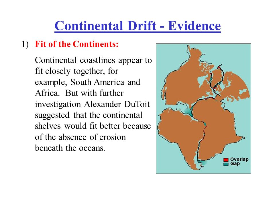 Continental Drift Theory Fossil Evidence 34234 TRENDNET