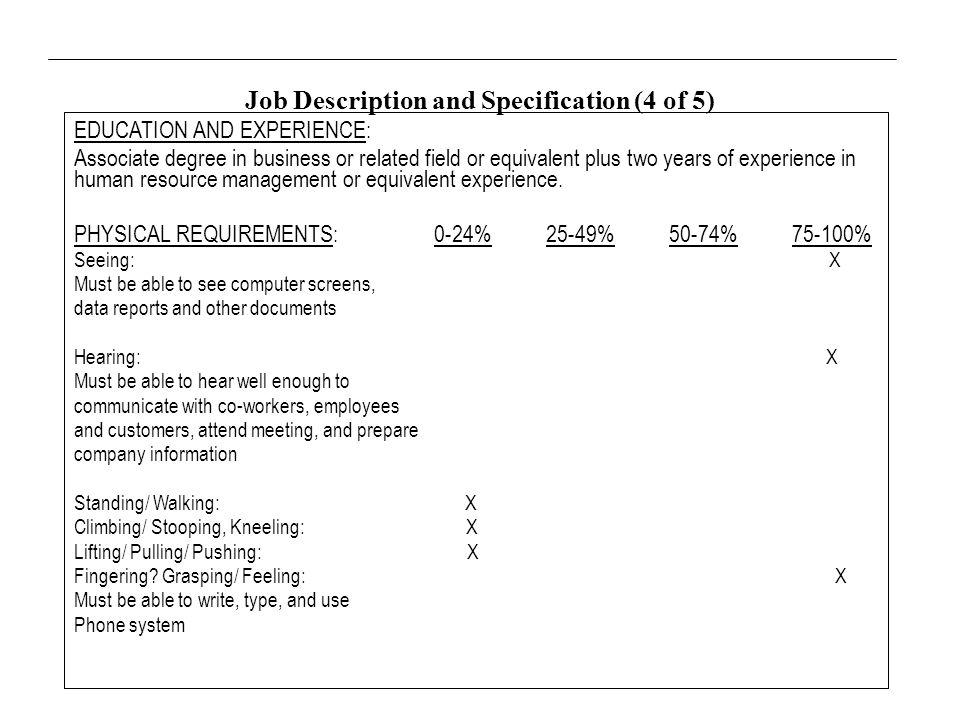 human resource associate job description