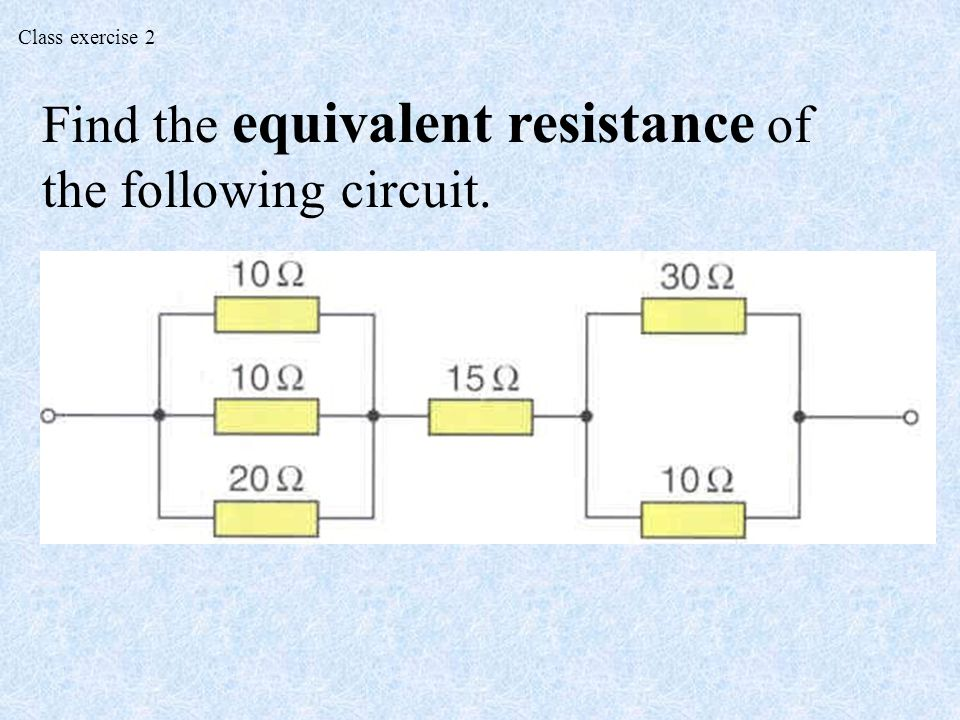 Circuit Diagram Exercises Wiring Diagram