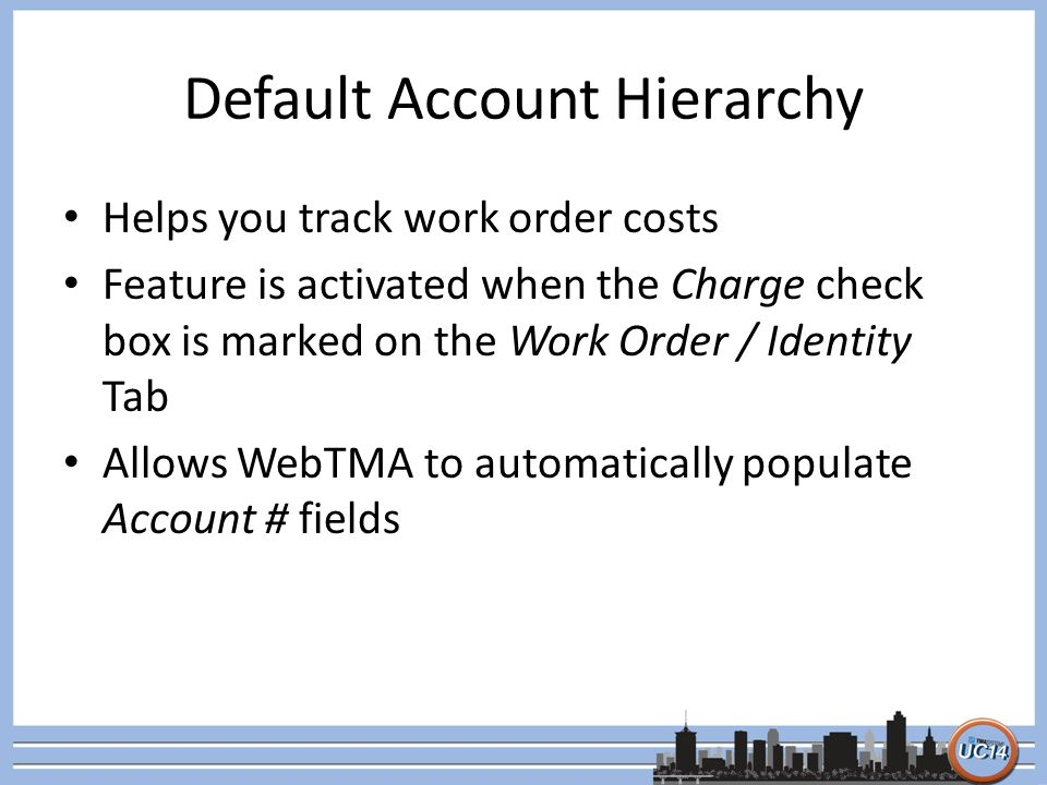WebTMA Accounting Module Basics Luis Pino TMA Systems - ppt download