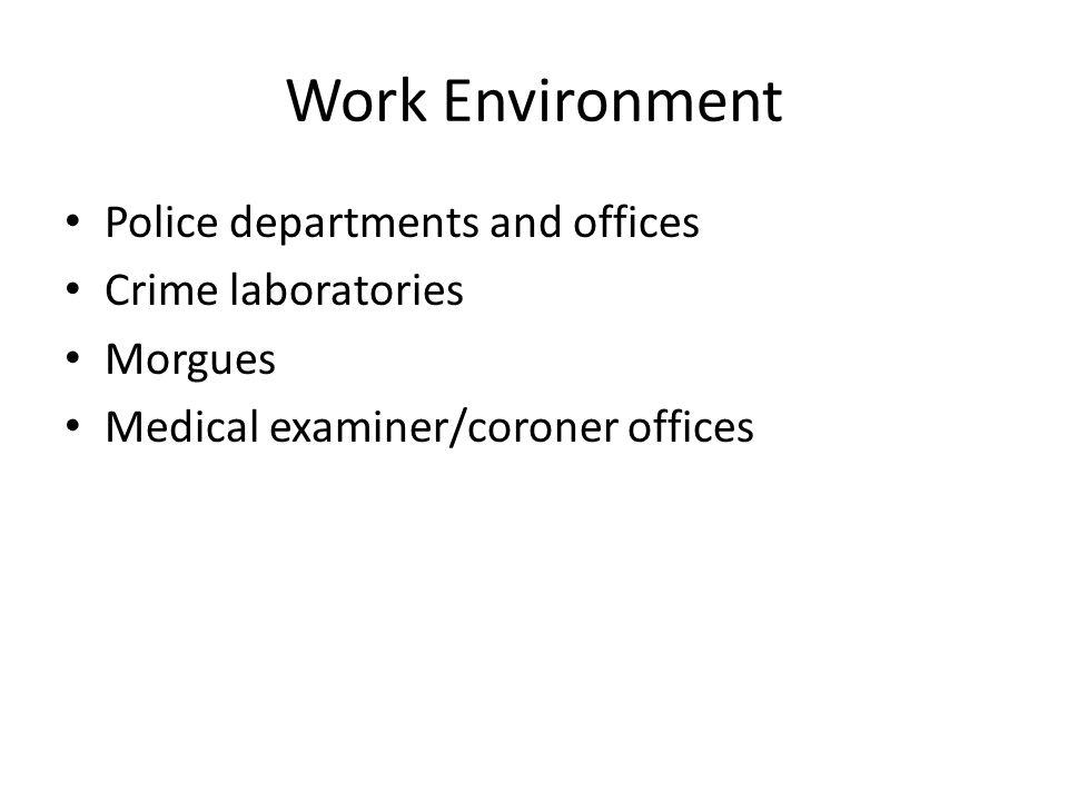 Forensic Video Job Description Employment of forensic science - medical examiner job description