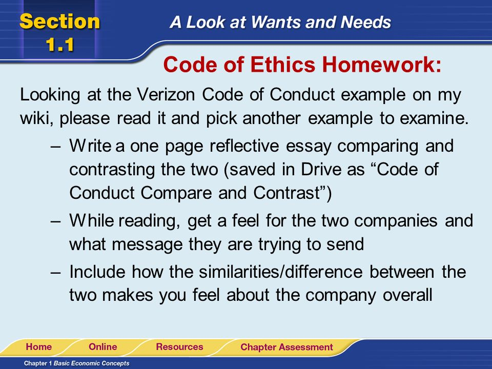 Chapter 4 \u2013 Page 82 Discussion starter Is unethical and illegal - code of conduct example