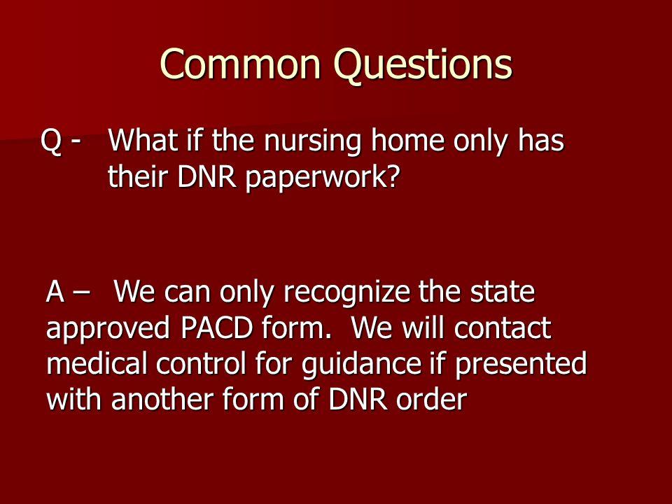 State of Delaware Pre-Hospital Advanced Care Directive Regulations - dnr medical form