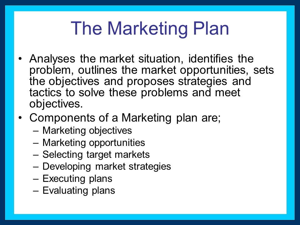 Strategic Planning Citizens Bank Case Marketing Challenges - Components Marketing Plan