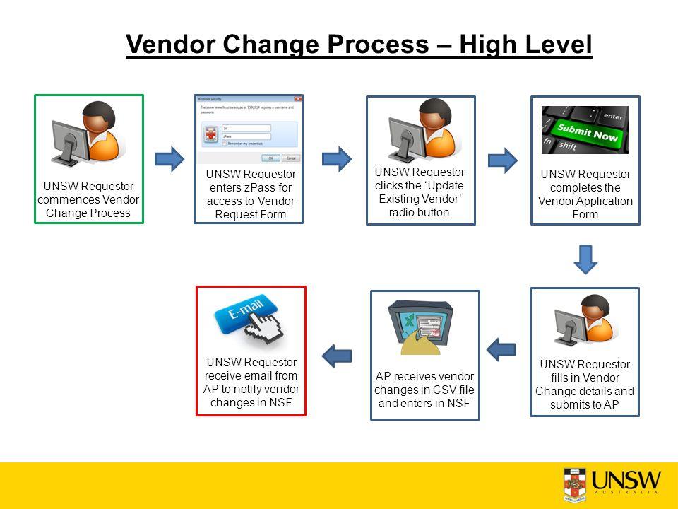 Vendor Creation Implementation Finance Led Training Sessions - ppt