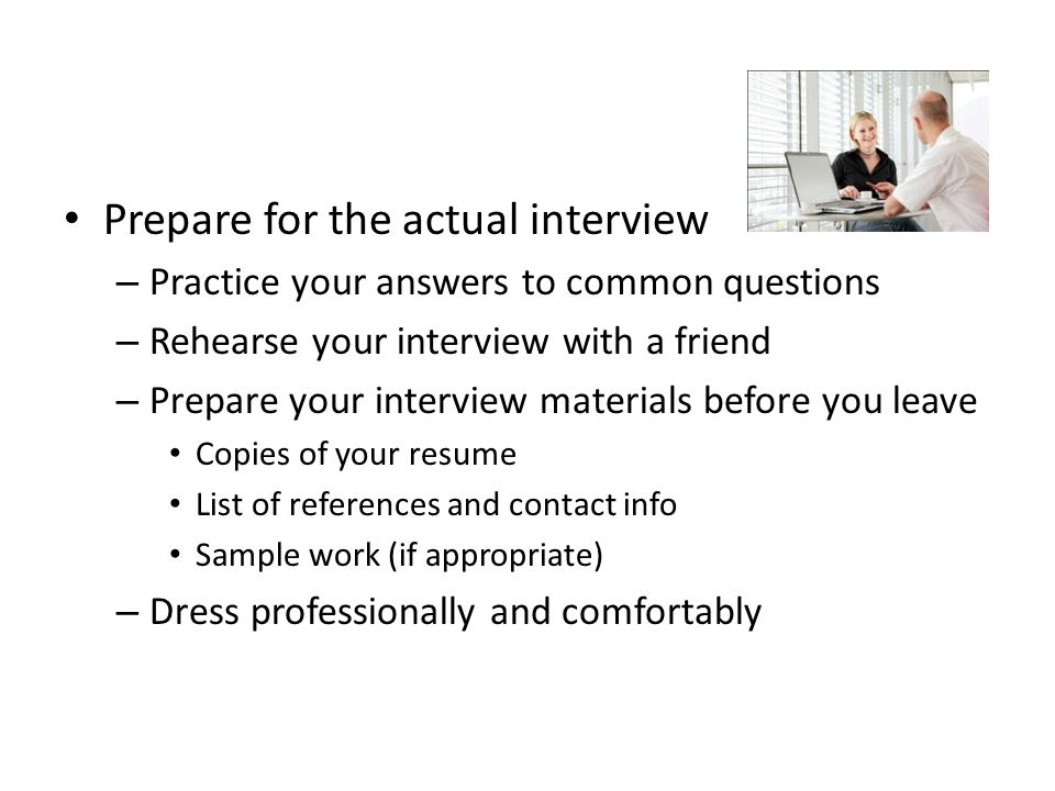 Interviews Job Interview for Pepsi This is an example of a well