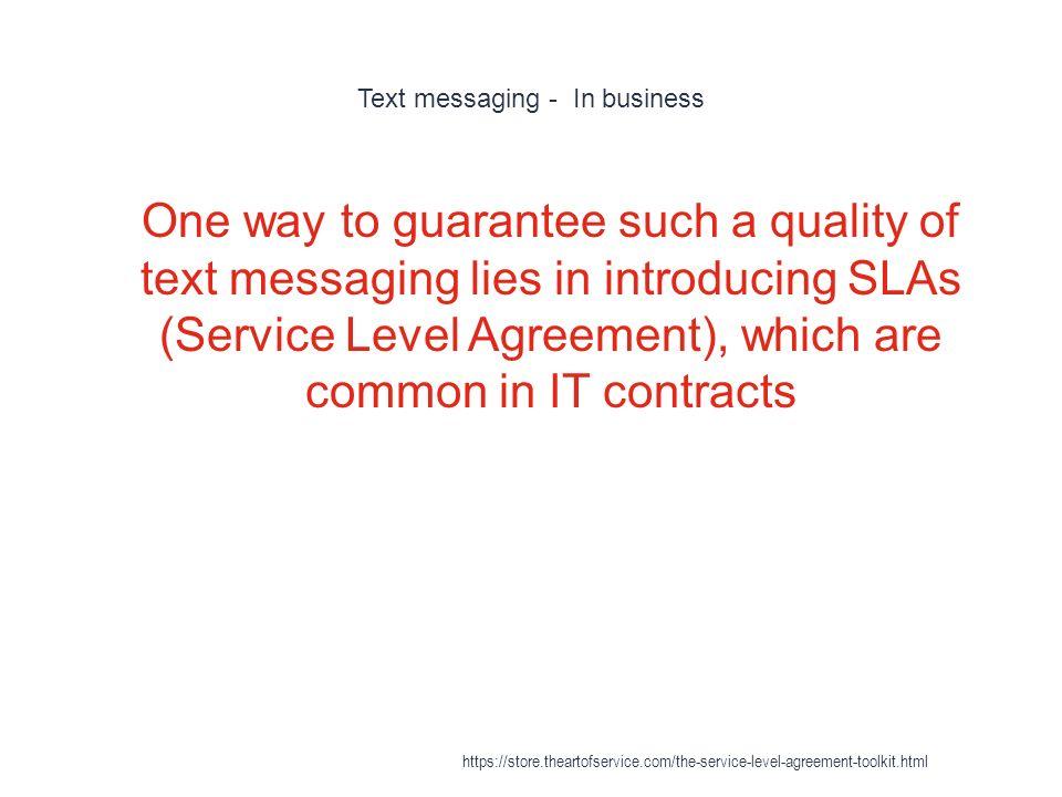 Service Level Agreement https\/\/storetheartofservice\/the - business service level agreement