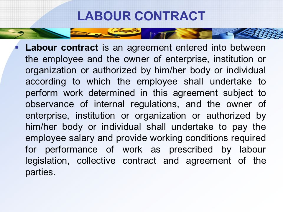 Agreement For Labour Contract AtT Mobility Regional Labor Contract - agreement for labour contract