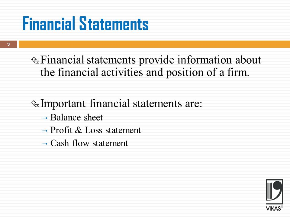 FINANCIAL STATEMENTS AND CASH FLOW ANALYSIS CHAPTER ppt download
