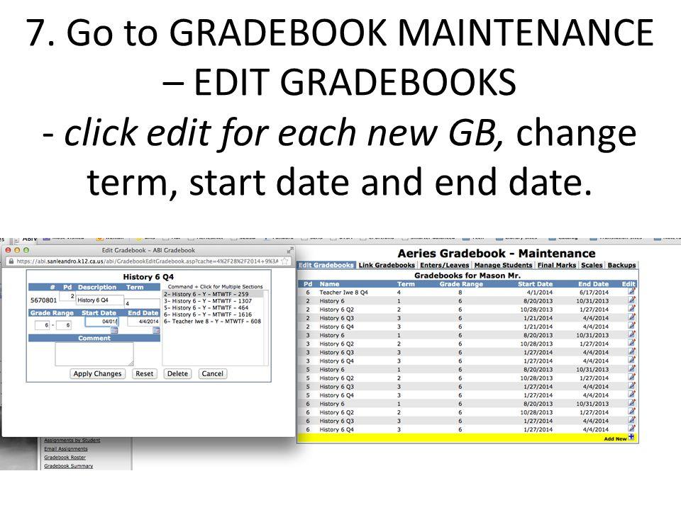 ABI Instructions- Setting up your Gradebooks *skip to slide 10 for