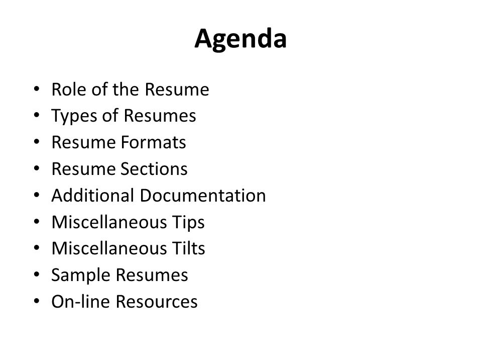 Lecture 22 Professional Communication Resume Writing - ppt download