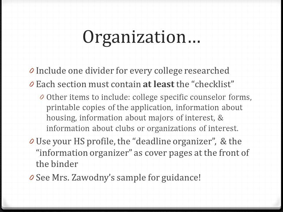College Binder Project College Bound Spring ppt download