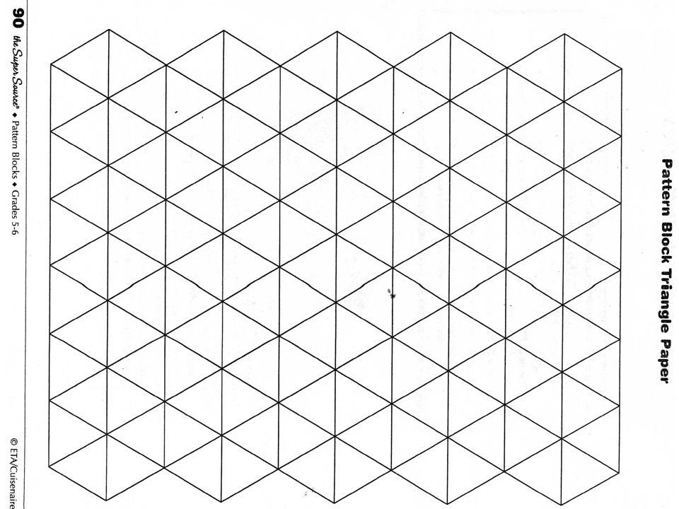 pattern block graph paper - Gottayotti