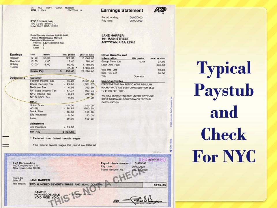 Ms Naira What are Payroll Taxes Taxes that are deducted from out - payroll tax calculator nyc