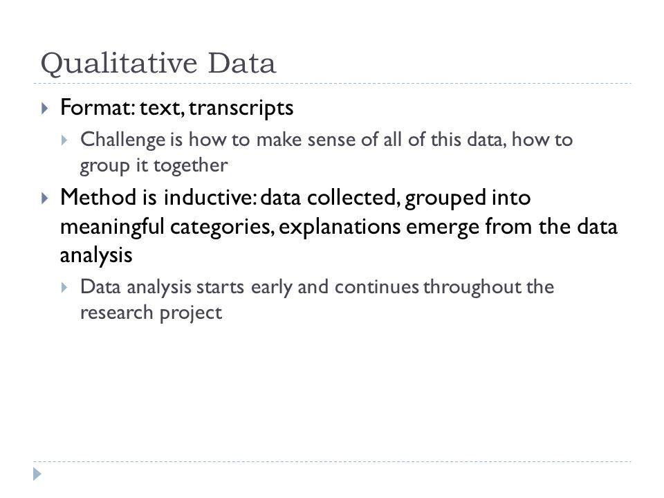 data analysis format – Data Analysis Format