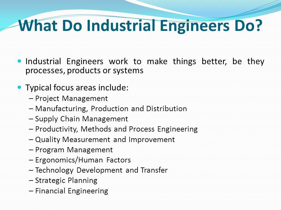 Prepared by the (Institute of Industrial Engineers \u2013 Industry