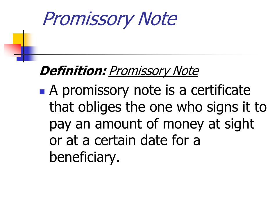 Chapter 7 Accounting for Promissory Note Ibrahim Sammour - ppt download