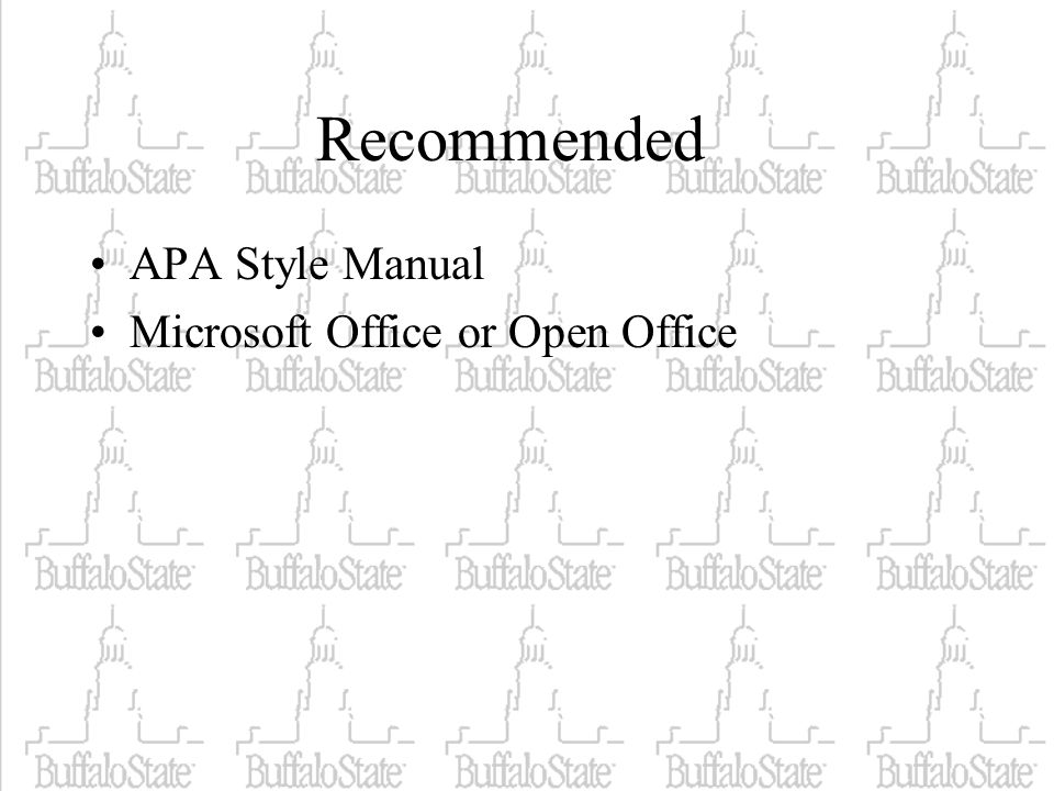 open office apa format - Antaexpocoaching