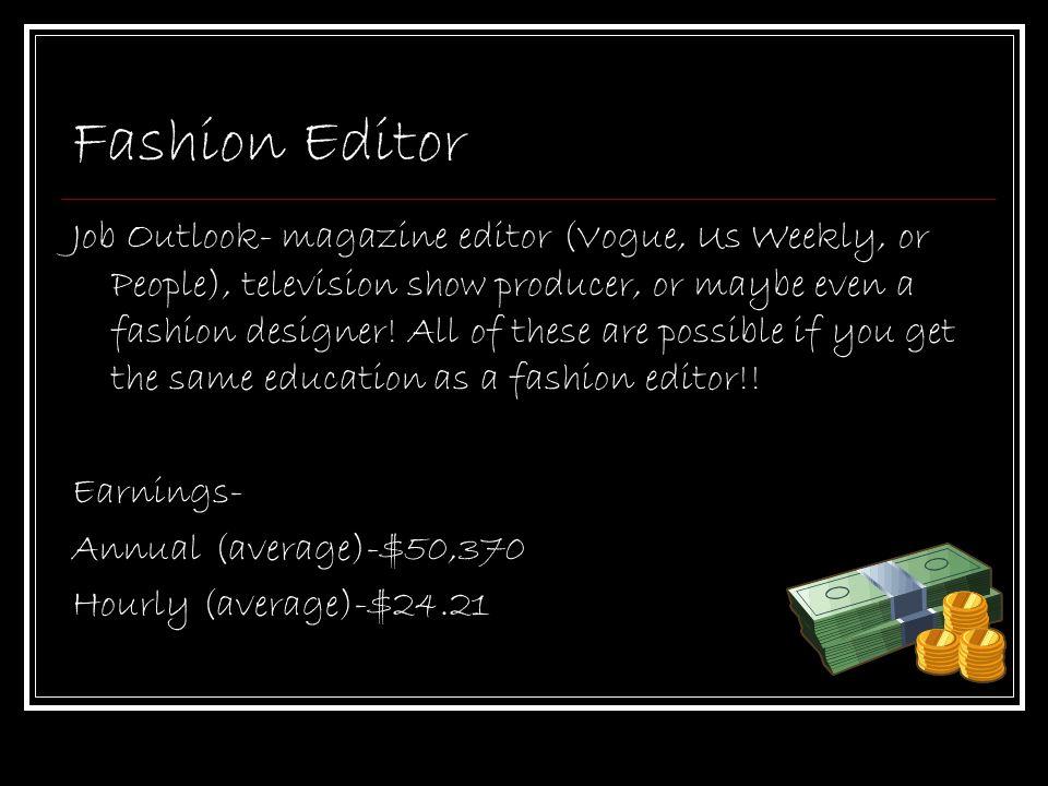 Career presentation Film director  Fashion editor - ppt download
