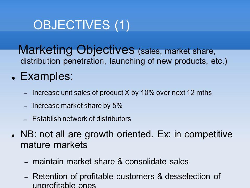marketing objective example efficiencyexperts - marketing objective example