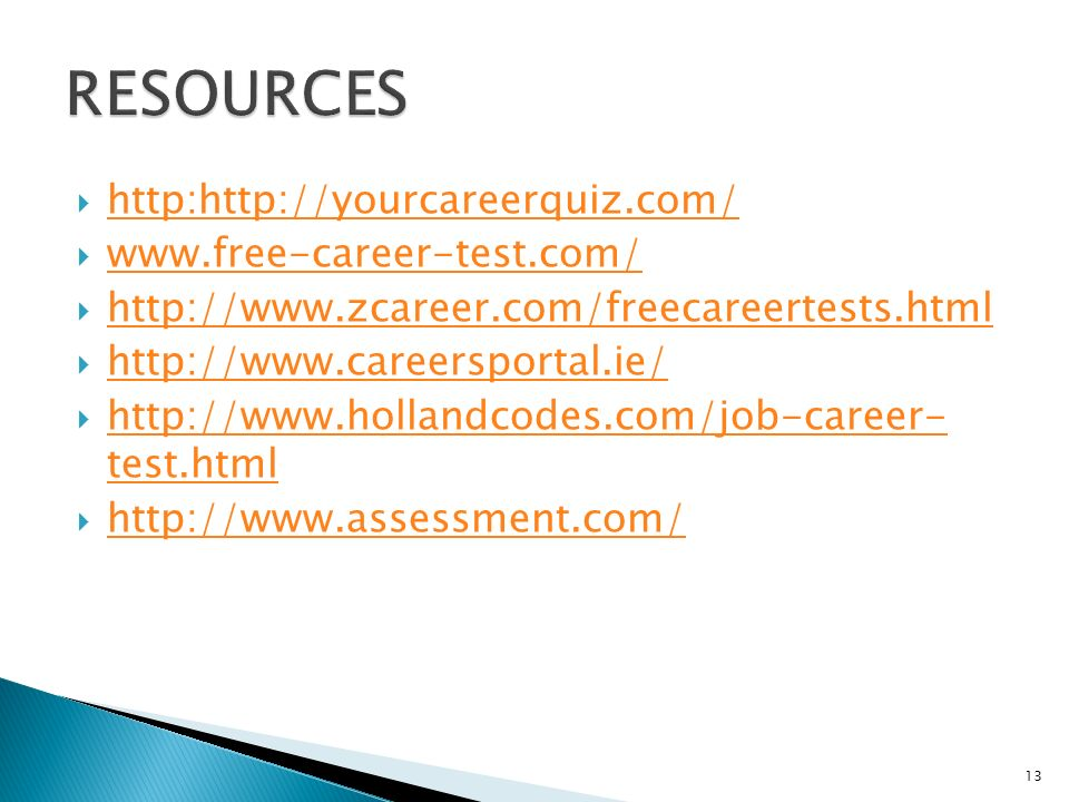Career Test Free  Career Test Free