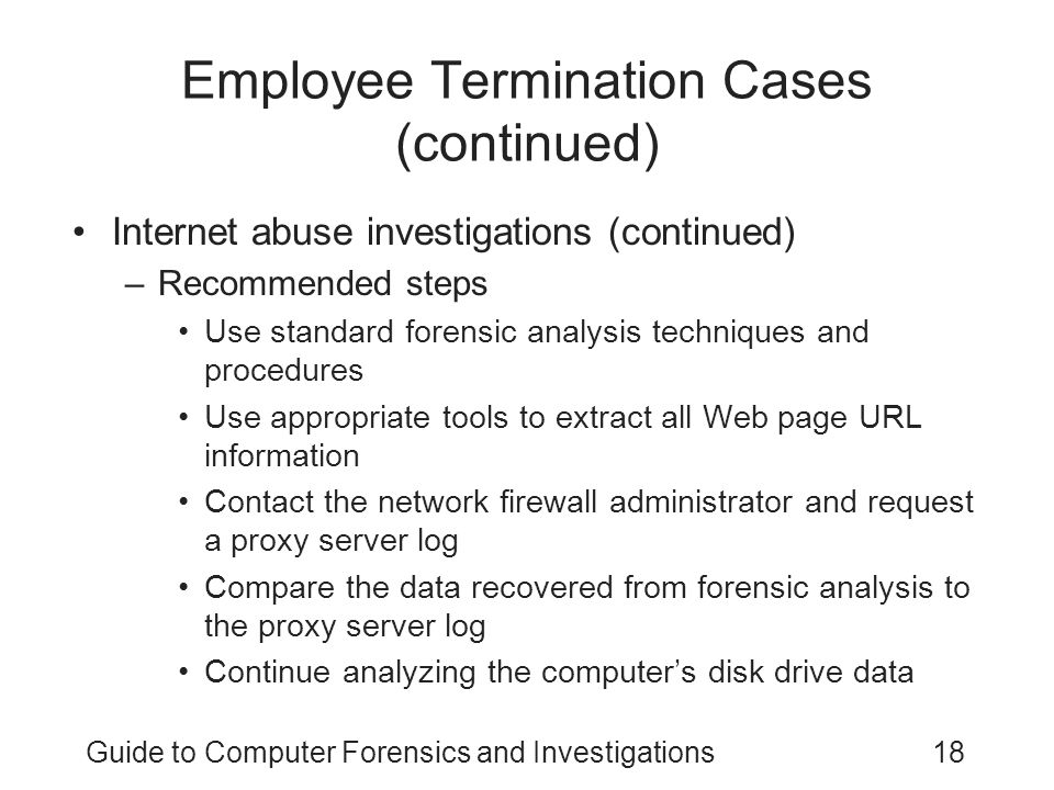 Employee Termination Guide Employee Termination Guide Termination