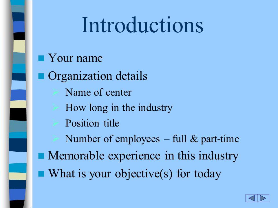 HEAD START\u2026 New Start\u2026 O r i e n t a t i o n Introductions Goals