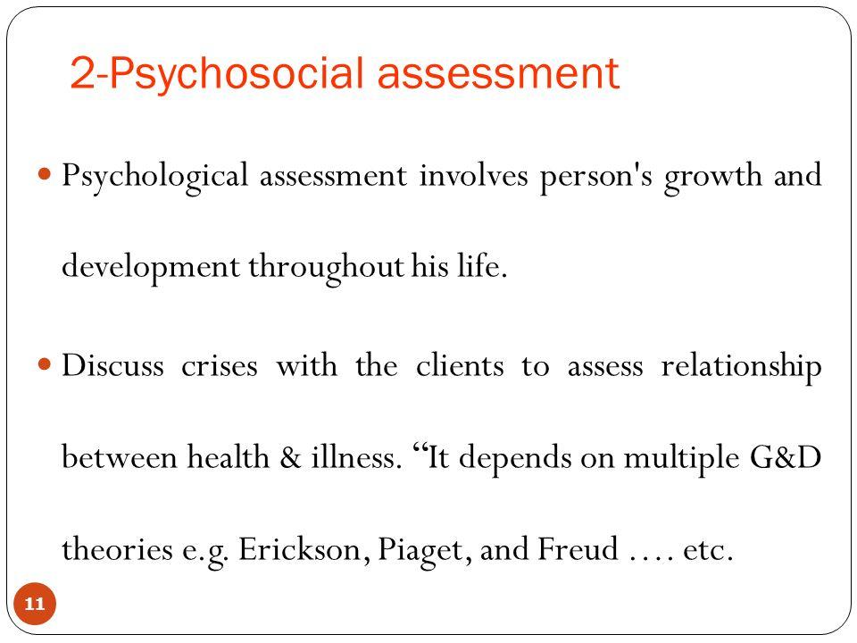 Psychosocial Assessment Social Work Psychosocial Assessment - psychosocial assessment