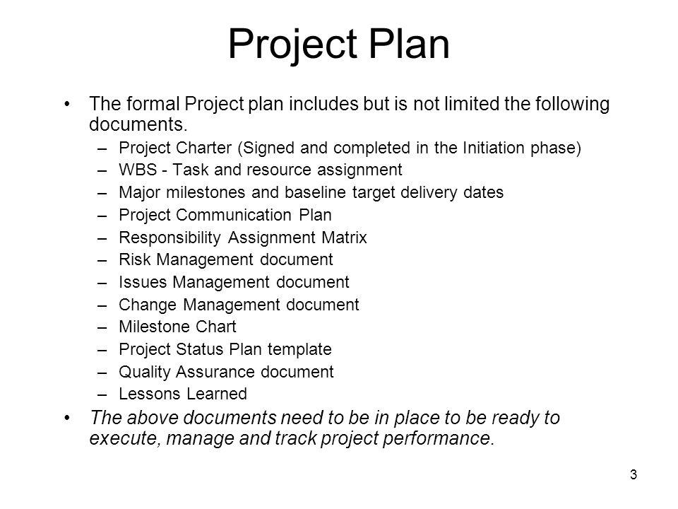 1 Advanced Project Management Project Plan Templates Ghazala Amin