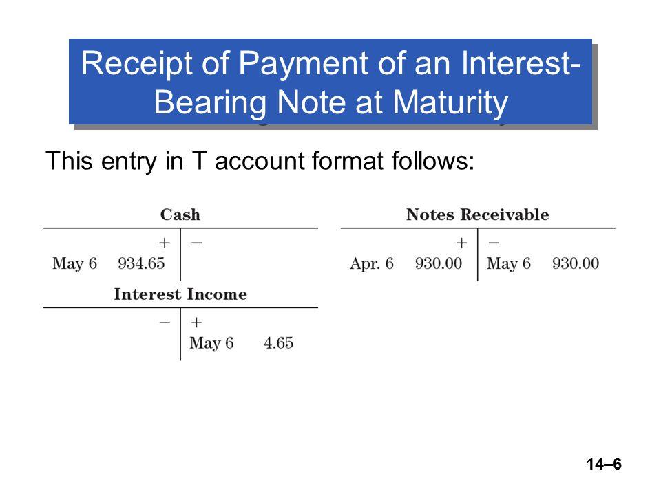 14u20131 McQuaig Bille 1 College Accounting 10 th Edition McQuaig - note payables