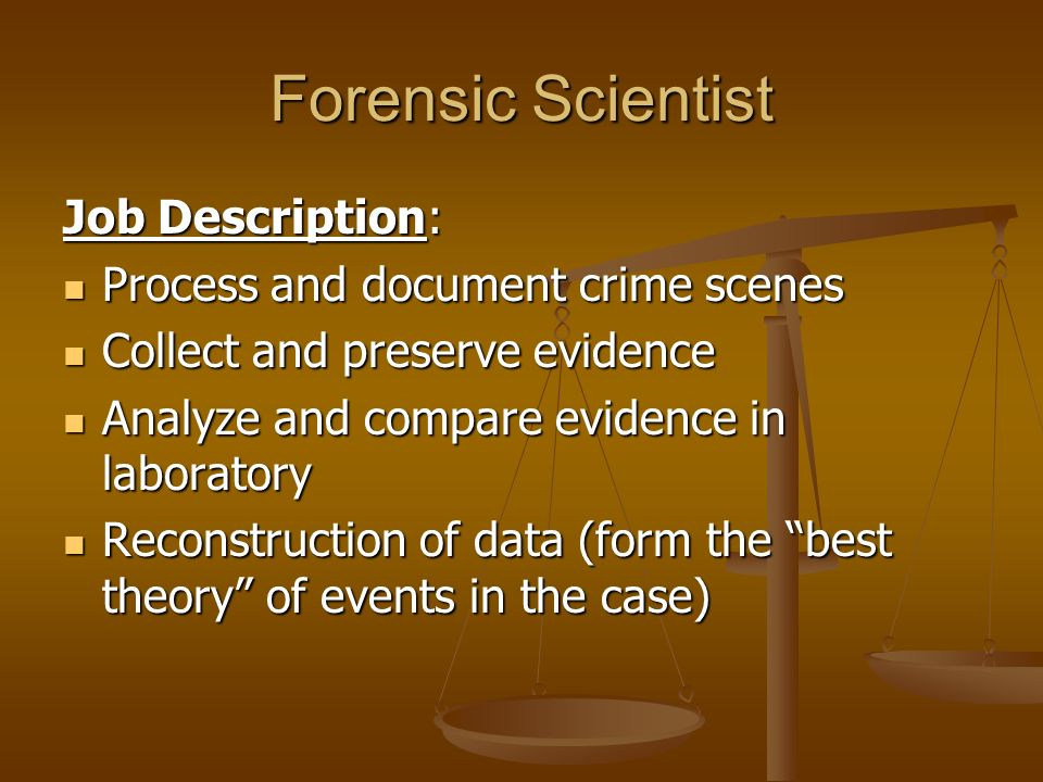 Forensic Science Introduction What is Forensic Science? Basic
