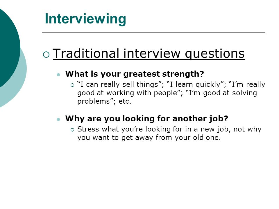 BC2 Job Hunting-- Interviews Interviewing  Developing an