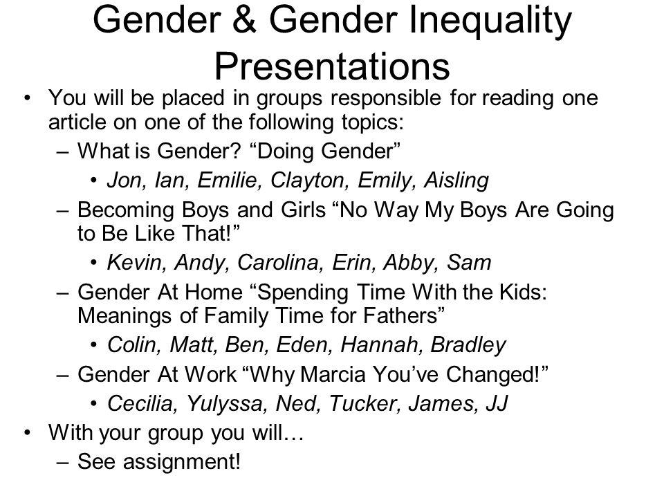 Gender inequality essay  Original content - gender inequality essay