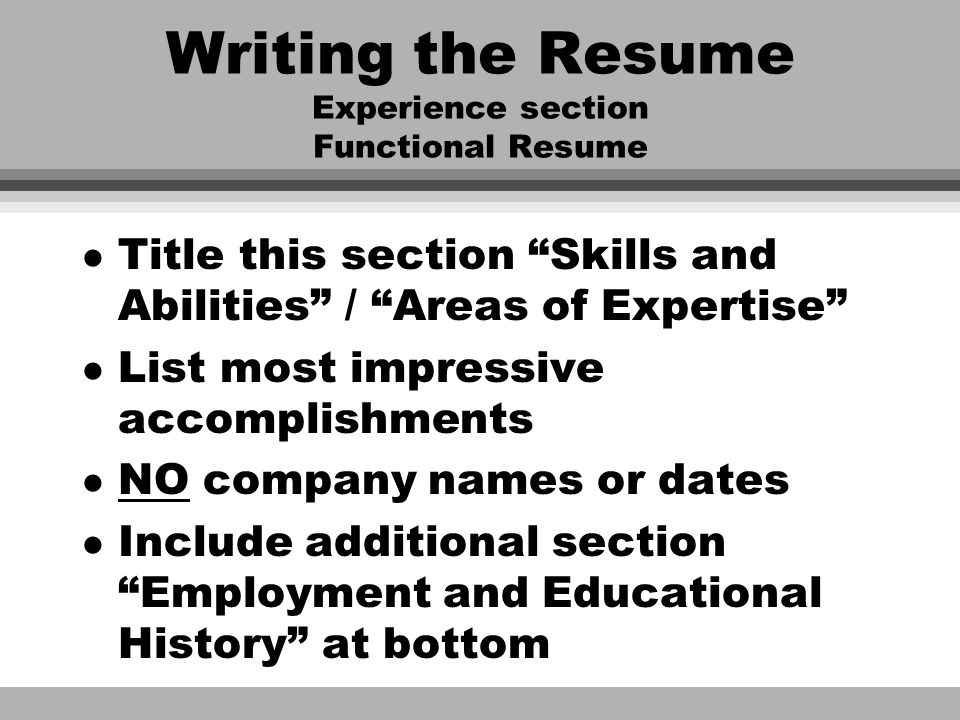 Resume Writing \u201cThe American Way\u201d Peg Dickson May ppt download