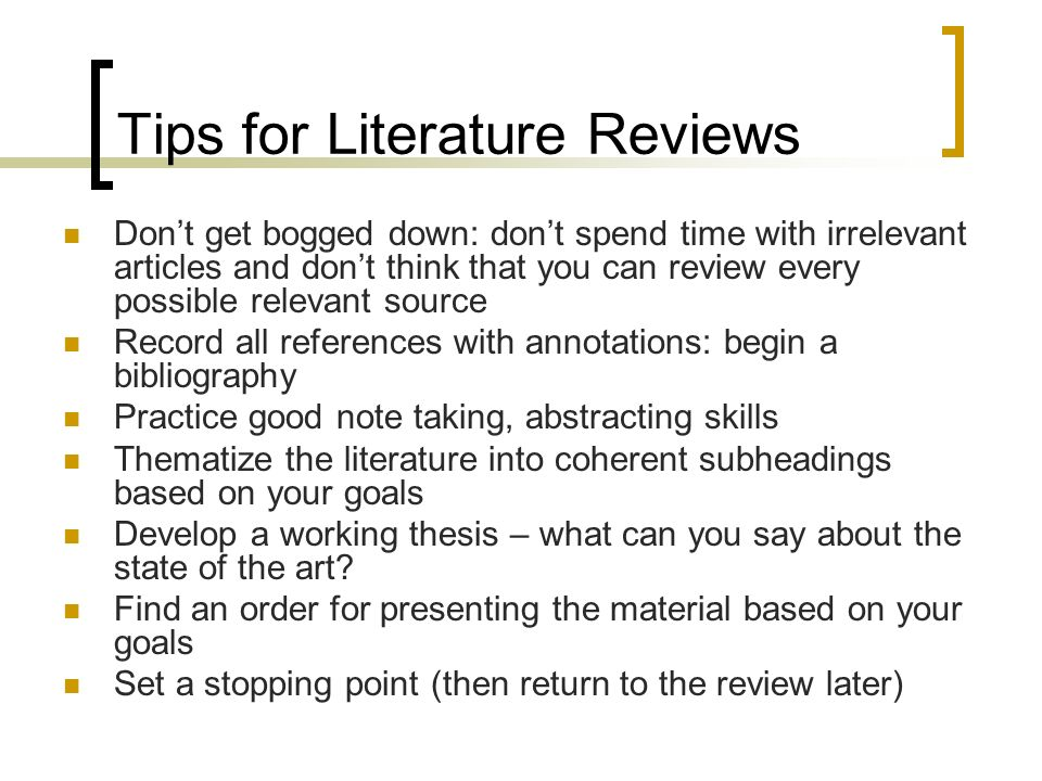 Examples of literature reviews in apa - Best and Reasonably Priced
