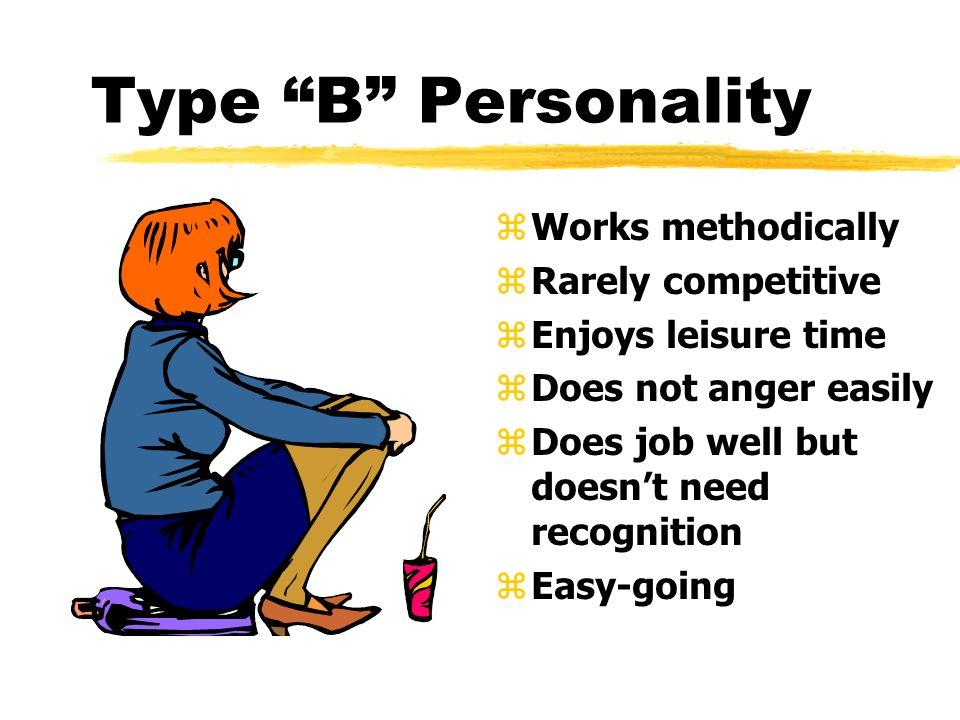 Type Z Personality dnio