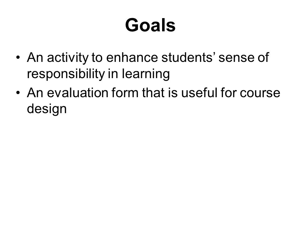 Enhancing students\u0027 sense of responsibility in learning by a weekly