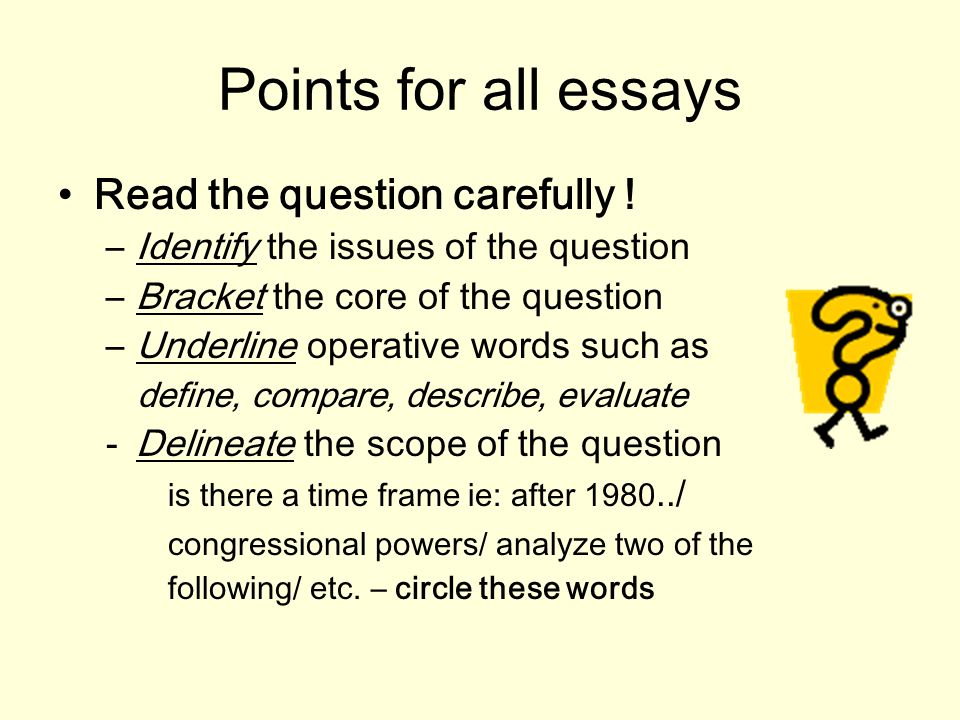 two types of essays writing for the ap government exam types of ap