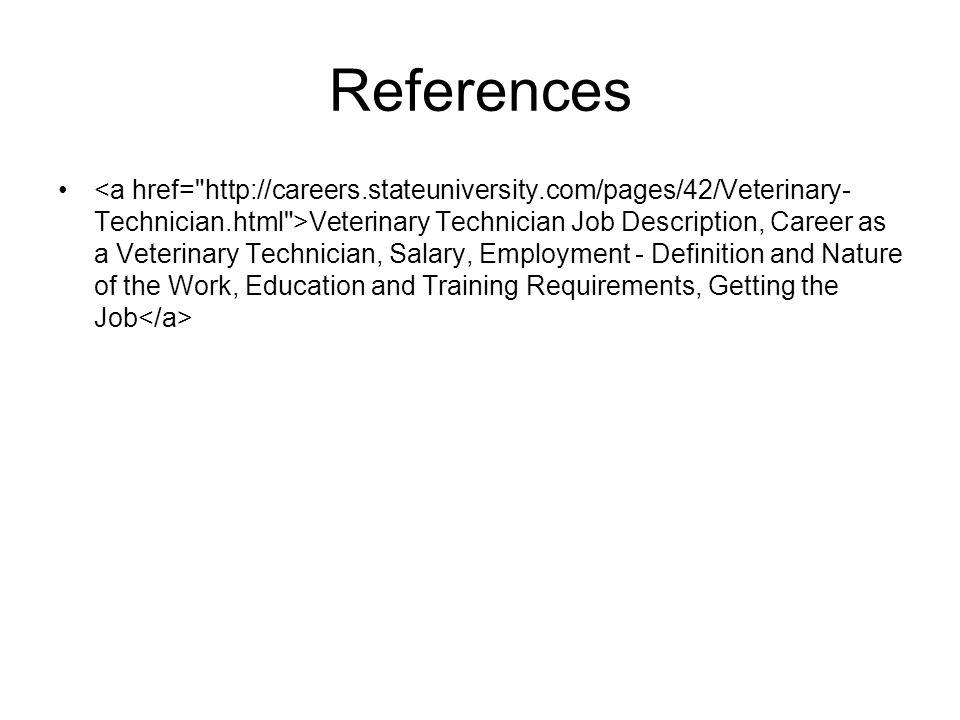 Vet Tech Job Description Veterinary Technician Resume Examples