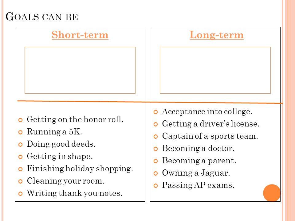 Personal Career Goal Examples best of 8 career goals statement