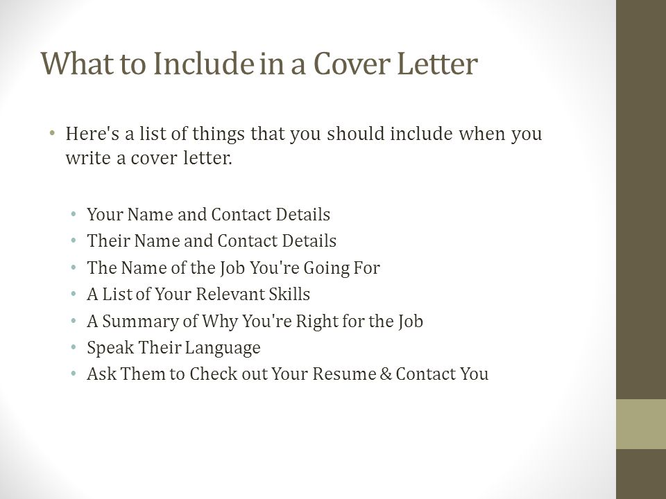 Cover Letter YOUTH CENTRAL \u2013 Cover Letters  Templates - ppt download