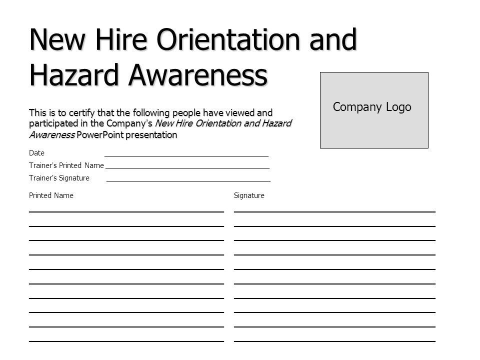 new hire orientation powerpoint presentation - Akbagreenw
