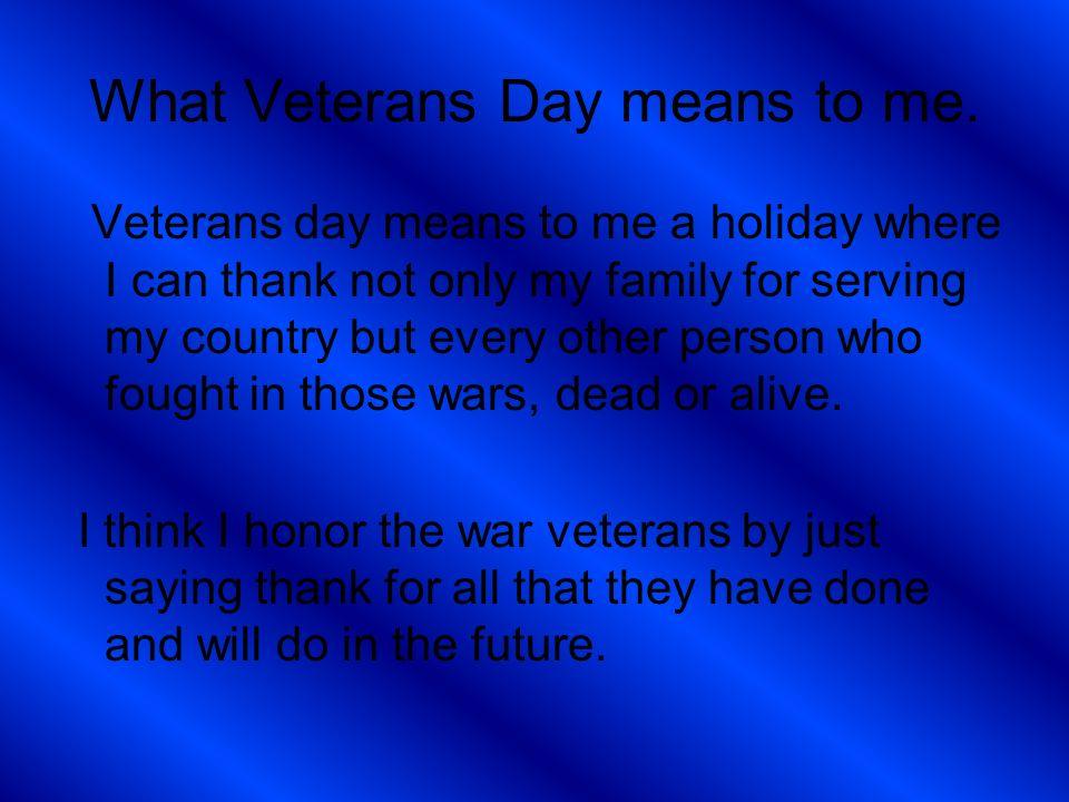Veterans Day Ppt \u2013 quantumgaming