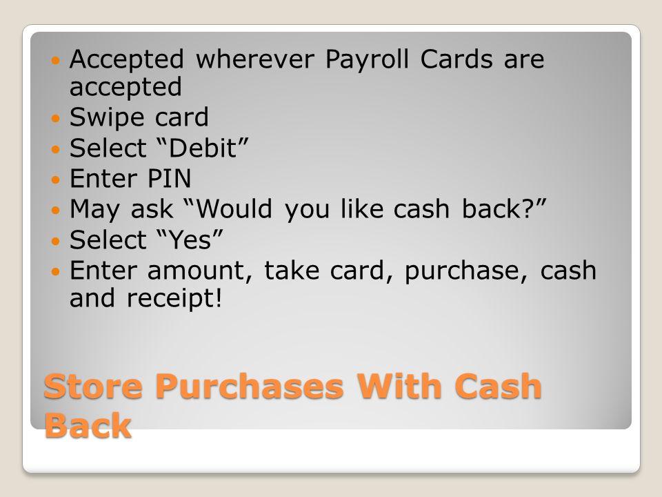DOE OPSR Program Payroll Training Payroll Cards 101 All - payroll receipt