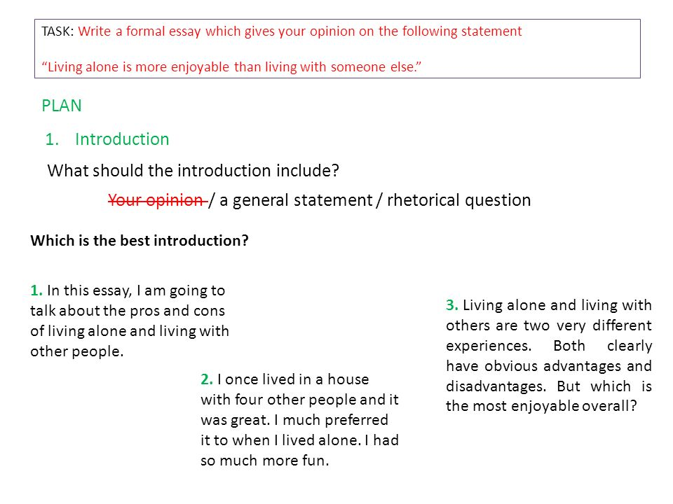 How to write an essay How to present your ideas clearly and